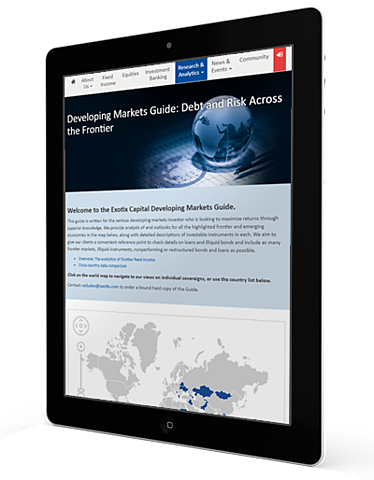 Developing Markets Guide   Exotix Capital